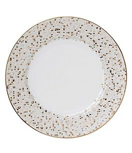 Image of Nikko Spangles Shimmering Bone China Dinner Plate