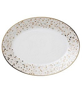 Image of Nikko Spangles Shimmering Bone China Platter