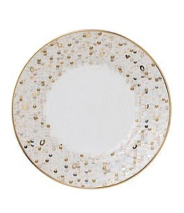 Image of Nikko Spangles Shimmering Bone China Salad Plate
