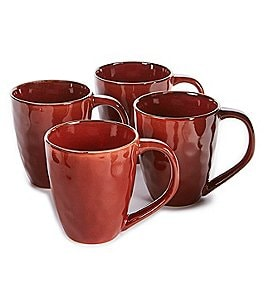 Image of Noble Excellence Naturals 4-Piece Hammered Mug Set