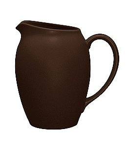 Image of Noritake Colorwave Chocolate Coupe Matte Stoneware Pitcher