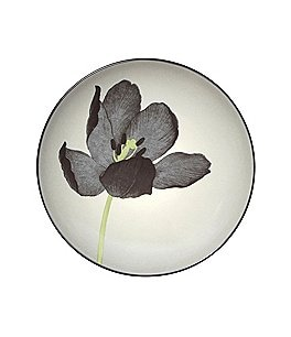 Image of Noritake Colorwave Coupe Floral Stoneware Accent Salad Plate