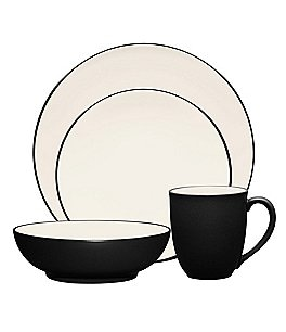 Image of Noritake Colorwave Coupe Stoneware 4-Piece Place Setting
