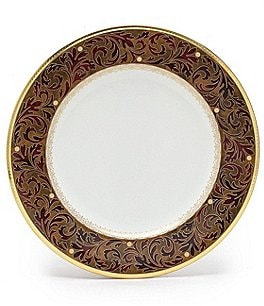 Image of Noritake Xavier Gold China Dinner Plate