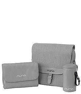 Image of Nuna Diaper Bag with Insulated Bottle Bag and Changing Pad Clutch