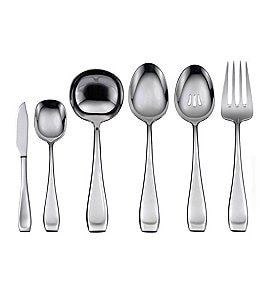 Image of Oneida Lagen Modern Danish Stainless Steel Flatware