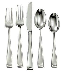 Image of Oneida Moda 65-Piece Stainless Steel Flatware Set