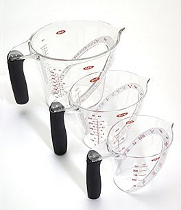 Image of OXO International 3-Piece Angled Measuring Cup Set