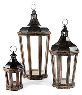 Image of Park Hill 3-Piece Hillcrest Lantern Set