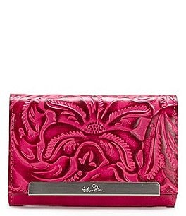 Image of Patricia Nash Burnished Tooled Collection Cametti Wallet