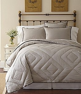 Image of Pendleton Primaloft Vintage Diamond-Quilted 300-Thread-Count Down-Alternative Hypoallergenic Comfort