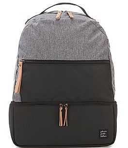 Image of Petunia Pickle Bottom Colorblock Axis Backpack Diaper Bag