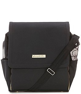 Image of Petunia Pickle Bottom Matte Leatherette Boxy Backpack Diaper Bag