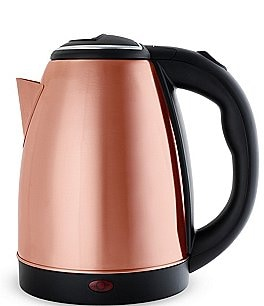 Image of Pinky Up Parker Rose Gold Electric Tea Kettle