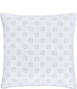 Image of Piper & Wright Lucy Eyelet Square Pillow