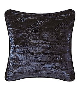 Image of Poetic Wanderlust™ by Tracy Porter Emmeline Crinkle Velvet & Faux-Silk Square Feather Pillow