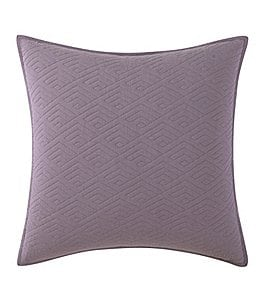 Image of Poetic Wanderlust™ by Tracy Porter Emmeline Geometric-Quilted Euro Sham