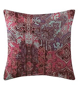 Image of Poetic Wanderlust™ by Tracy Porter Emmeline Velvet & Faux-Silk Square Feather Pillow