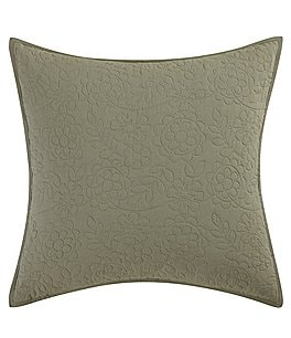 Image of Poetic Wanderlust™ by Tracy Porter Mathilde Floral-Quilted Euro Sham