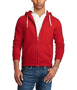 Image of Polo Ralph Lauren Classic Solid Fleece Hoodie Jacket
