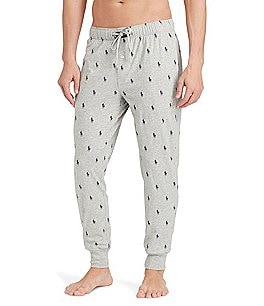 Image of Polo Ralph Lauren Pony Print Jogger Lounge Pants