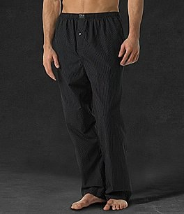 Image of Polo Ralph Lauren Soho Plaid Sleep Pants