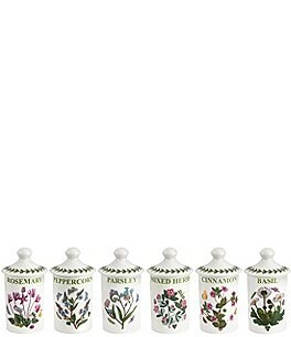 Image of Portmeirion Botanic Garden Assorted Spice Jars