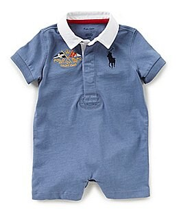 Image of Ralph Lauren Childrenswear Baby Boys 3-12 Months Rugby Shortall