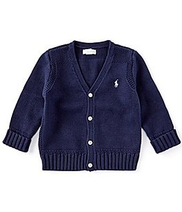 Image of Ralph Lauren Childrenswear Baby Boys 3-24 Months Cardigan