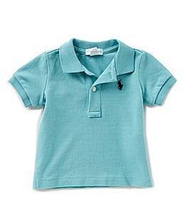 Image of Ralph Lauren Childrenswear Baby Boys 3-24 Months Short-Sleeve Polo Shirt