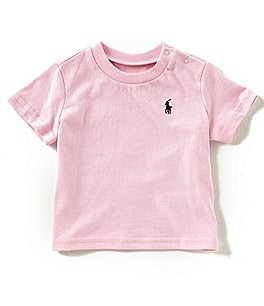 Image of Ralph Lauren Childrenswear Baby Boys 3-24 Months Short-Sleeve Tee