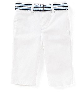 Image of Ralph Lauren Childrenswear Baby Boys 3-24 Months Stretch Chino Pants