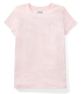 Image of Ralph Lauren Childrenswear Big Girls 7-16 Pima Cotton-Blend Jersey Tee