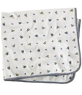 Image of Ralph Lauren Childrenswear Reversible Printed Receiving Blanket