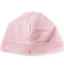 Image of Ralph Lauren Childrenswear Striped Beanie Hat