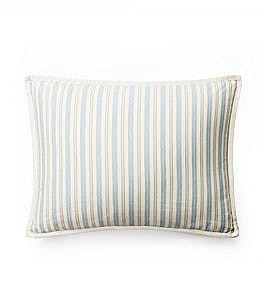 Image of Ralph Lauren Madalena Collection Gene Striped Pillow