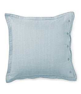 Image of Ralph Lauren Madalena Collection Wetherly Linen Square Pillow