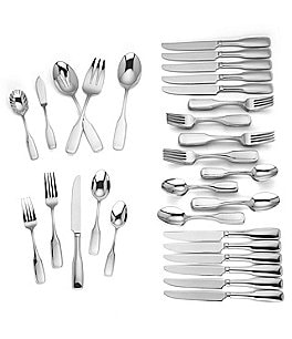 Image of Reed & Barton Josephina 65-Piece Stainless Steel Flatware Set