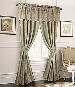 Image of Rose Tree Norwich Damask Medallion Jacquard Window Treatments
