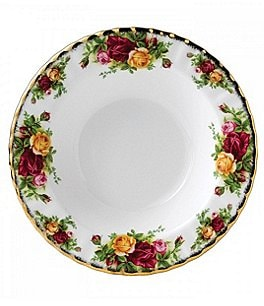 Image of Royal Albert Old Country Roses Rimmed Soup Bowl