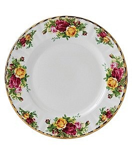 Image of Royal Albert Old Country Roses Salad Plate