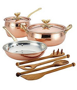 Image of Ruffoni Historia Decor 5-Piece Cookware Set