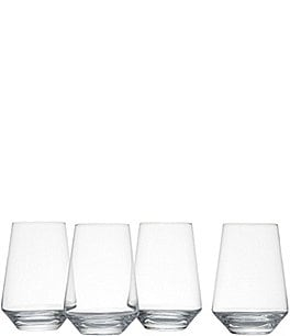 Image of Schott Zwiesel 4-Piece Tritan® Stemless Bordeaux Glass Set