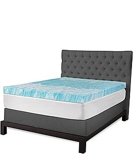 "Image of Sensorpedic 4"" Gel Swirl Mattress Topper"