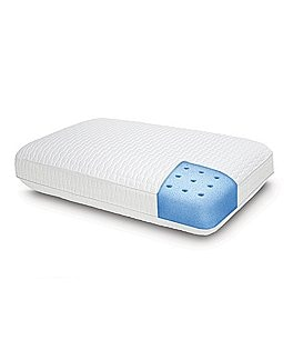 Image of Sensorpedic Euro Majestic Antimicrobial Repel-A-Tex Memory Foam Pillow