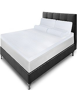 Image of Sensorpedic SensorCOOL Elite Gel-Infused Memory Foam Mattress Topper