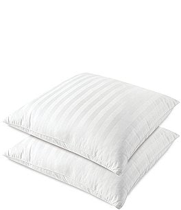 Image of Sensorpedic Striped Sateen Euro Pillows, Set of 2