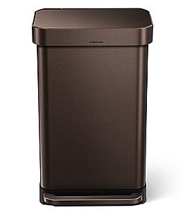 Image of simplehuman 45-Liter Rectangular Step Trashcan