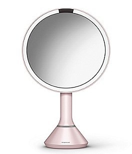 "Image of simplehuman Pink 8"" Sensor Mirror with Brightness Control"