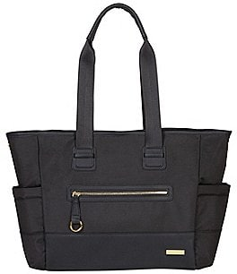 Image of Skip Hop Chelsea 2-in-1 Downtown Chic Tote Diaper Bag